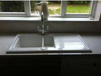 Astracast ceramic sink 1.5 bowl