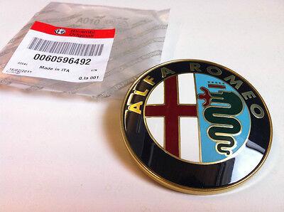 Alfa Grille Badge 145 146 155 156 164 166 Spider GTV 60596492