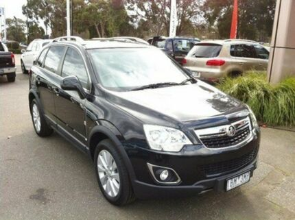 2014 Holden Captiva CG MY14 5 LT Black 6 Speed Sports Automatic Wagon