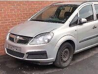vauxhall zafira B breaking car cheap px cars for sale