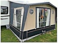 Isabella Magnum 250 Coal porch awning