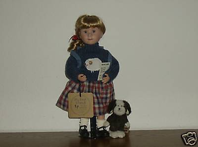 Boyds Doll Brittany with Buddy ... Model Students, 1E