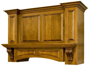 Custom Made Wooden Range Hoods, Fire Place Mantels and more... Kitchener / Waterloo Kitchener Area image 1