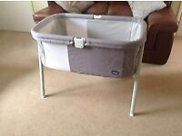 Chicco lullago crib / cot / moses basket / travel cot