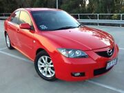 2007 Mazda 3 BK MY06 Upgrade Maxx Red 4 Speed Auto Activematic Sedan Morayfield Caboolture Area Preview