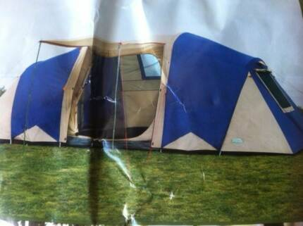 Dome 12 person c&ing tent. Brand new. Fantastic bargain & 4 person stockman tent weekender | Miscellaneous Goods | Gumtree ...