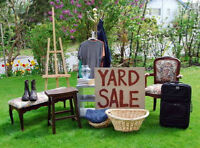 YARD SALE!!! Uptown Fredericton, Saturday May 23rd
