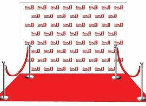 Wedding backdrop/Complete Red carpet - $499 - all inclusive