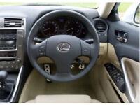 Lexus is220d steering wheel + air bag complete 06-09 breaking spares is 220d 220 d is250 250