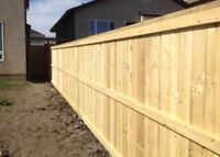 Fence and decks built with pride