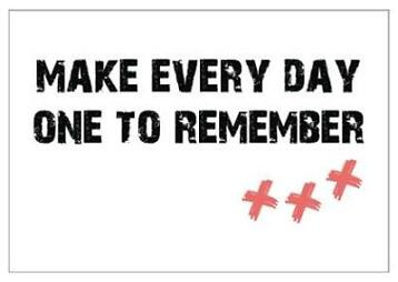 Studio82 wenskaart Make Every Day One To Remember