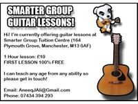 GUITAR LESSONS - WILL TEACH ANY AGE/ABILITY (FIRST LESSON 100% FREE)