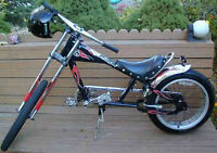 SCHWINN STINGRAY CUSTOM CHOPPER BIKE