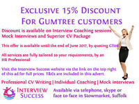 Professional CV Writing & Coaching to make you stand out! From £30