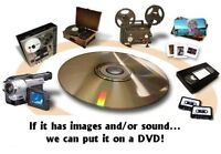 TRANSFER VIDEOS TO DVD, usb, OR direct to your PC or Laptop