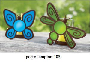 chandeliers neufs (partylite)