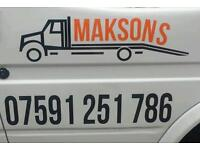 24/7 UK - wide vehicle/car recovery and transportation services