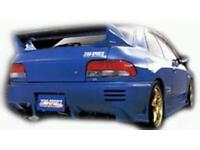 Subaru Impreza sti zerosports bodykit bumpers and side skirts rare