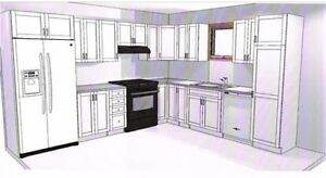 vente entrepôt Armoire de cuisine