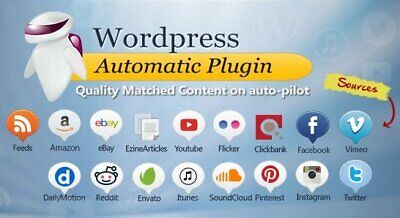 Automatic Plugin Wordpress - Posts From Almost Any Website To Wp