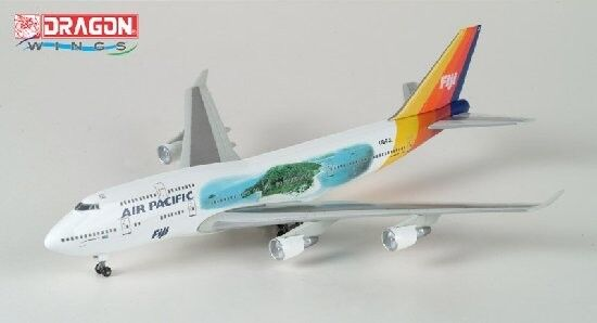 RARE Dragon Wings #55522 AIR PACIFIC Boeing 747-400 1:400 Scale Model Aircraft