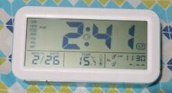 (High Quality) Digital Smart Alarm Clock with 2 Alarms Large Display