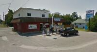 Gas station, store, rented apt and house in Thessalon Lake Huron