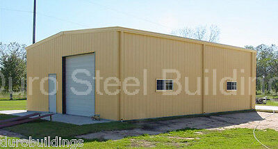 Durobeam Steel 30x48x10 Metal Garage Storage Shed Workshop Building Kit Direct