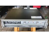 Crown Macro-Tech 2402 - 2 Channel Amplifier 1600watt (240v)