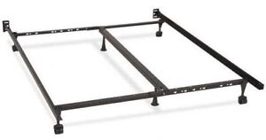 ISO DOUBLE SIZE BED FRAME &  BOXSPRING (no need for mattress)
