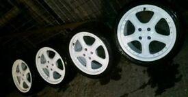 "4x100 17"" Porsche Boxster Replica Wheels (VAG VW Audi Seat Skoda Volvo Polo)"