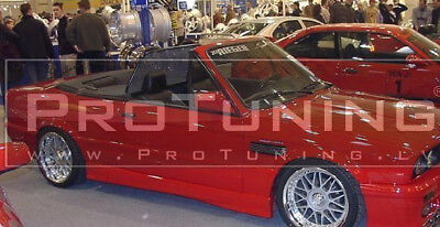 Sport Acople Set Para BMW E30 Lateral Faldón Falda Cubierta Del Alfeizar
