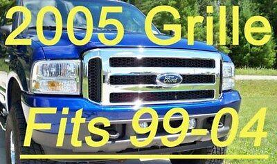 Ford CHROME Grille CONVERSION  1999-2004 Super Duty 99-04 F250 F350 FREE SHIP!