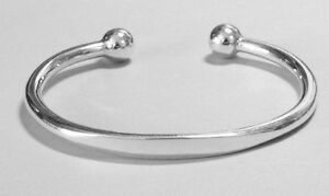 New-Mens-Heavy-Solid-Silver-Torque-Bangle-Bracelet