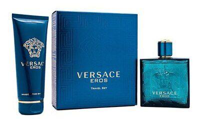 Versace Eros by Versace for Men - 2 Pc Gift Set 3.4oz EDT Sp