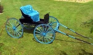 Refurbished Single Horse Buggy