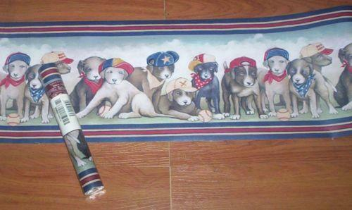 Dog Wallpaper Border Ebay
