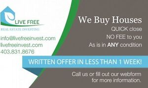 Written Offer On Your House in 1 Week or Less!
