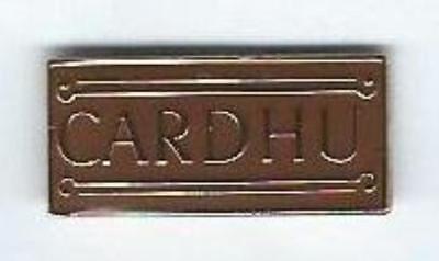 CARDHU DISTILLERY SCOTCH WHISKY LAPEL PIN BADGE ( GLENCAIRN (Scotch Whisky Distilleries)