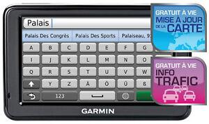 GPS GARMIN 50LM PRESQ NEUF,US-CANADA 2017,MIS A JOUR A VI,5Po