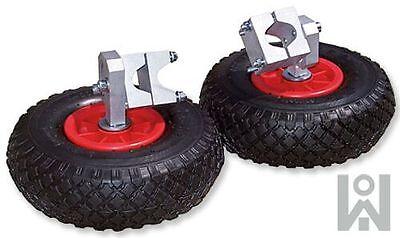 2 Stück Stützräder für Schubkarre Stützrad für Gartenkarre