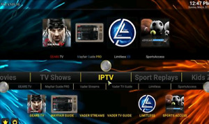 SERVICE DE PROGRAMMATION ★ ANDROID TV BOX ★ KODI ★ LIVE TV