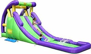 20ft Bouncy Castle Inflatable Twin Water Slide