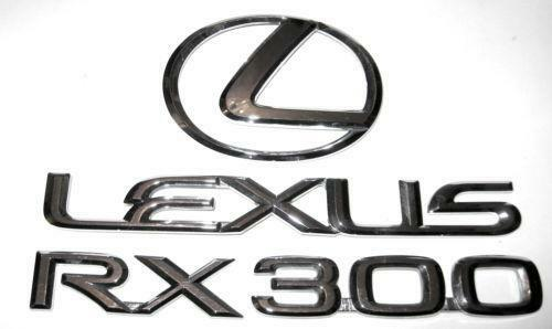Lexus Key Replacement >> Lexus RX300 Emblem | eBay