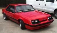 86 MUSTANG LX COUPE MINT CONDITION