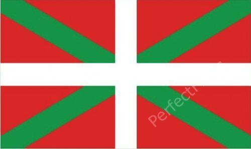 BASQUE FLAG - BASQUE NATIONAL FLAGS - Choose Size 3x2, 5x3 Feet