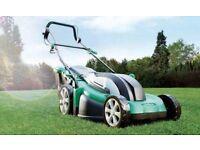 Electric 43cm 1800w lawnmowr