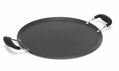 Imusa, Red USA CAR-52019T Carbon Steel Round Comal, 11-Inch, Bottom