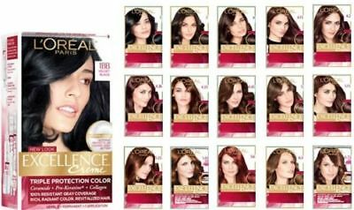 Triple Care Creme (3x L'OREAL Excellence Creme Advanced Triple Care Hair Colour - Choose Your Shade)