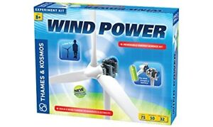 Wind Power Science Kit For Kids